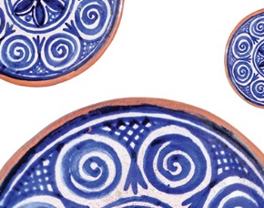 """Crafted by Kourtzís"" Temporary pottery exhibition at the Museum of Industrial Olive-Oil Production of Lesvos"